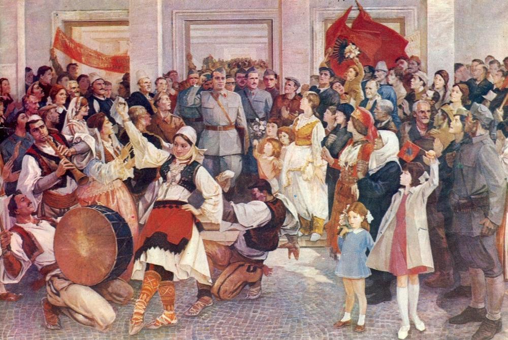 11.1.1946 Den Albanske Folkerepublik proklameres