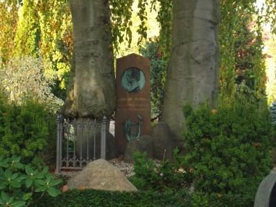 Christian Winther's grav, Holmens Kirkegård, København. Foto: Bjørn Andersen, 2005