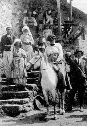Edith Durham in Northern Albania 1913