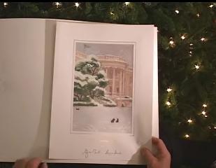 Det Hvide Hus udsender hvert år en lille videofilm om hunden Barney