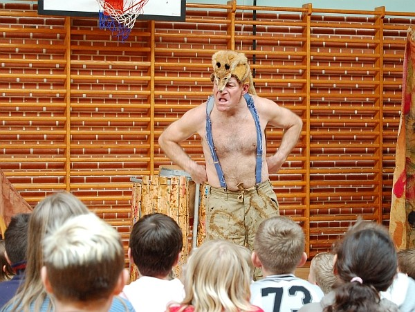 Niels Klim på Falster. Foto: Bjørn Andersen, 2006